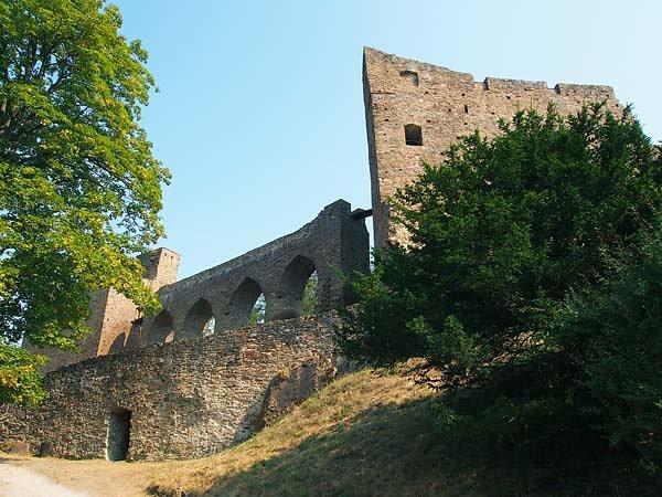 Burgruine Velhartice (Welhartitz)