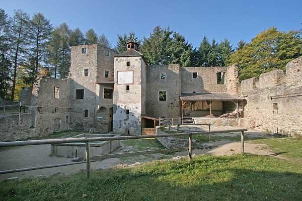 Schlossruine Reichenau