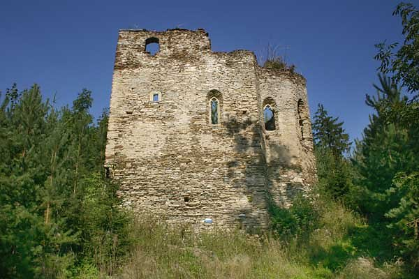 Ruine Gaber - Gaberburg - Gaberkirche