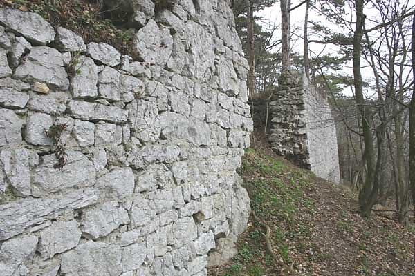 Ruine Scharfeneck im Helenental
