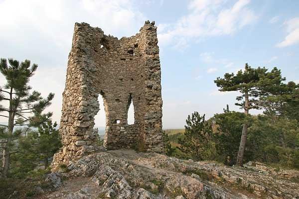 Künstliche Ruine Türkensturz