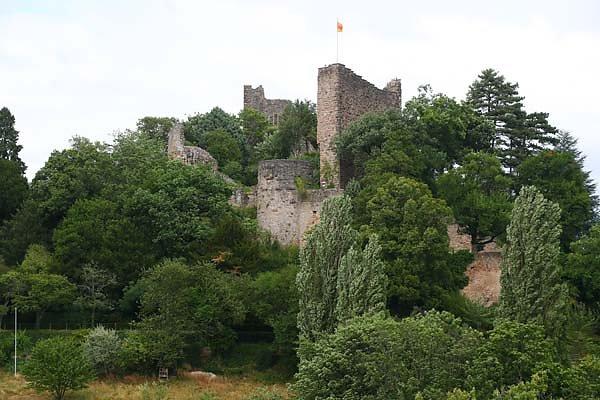 Burgruine Baden - Badenweiler