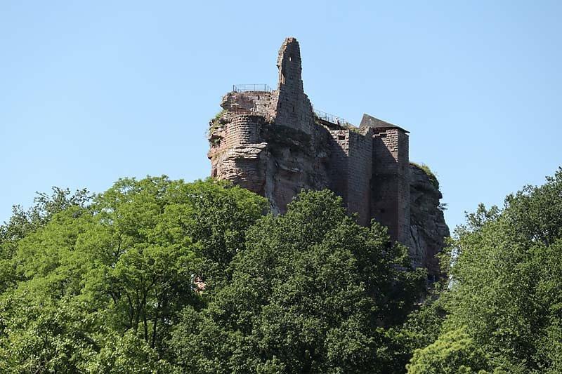 Burgruine Fleckenstein